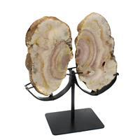 1.4kg Pink Amethyst Butterfly on Stand