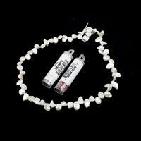 Top Drilled Rice Pearl Kit; Top Drilled Keshi Pearls, 38cm Strand & 11/0s