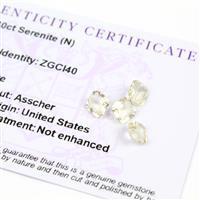 3.3cts Serenite Octagon Asscher 6.00x6.00mm (Pack of 4)