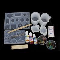 UV Resin Floral Pendant & Earring kit