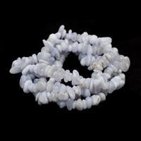 340cts Blue Chalcedony Small Nuggets Approx 7x4-9x6mm, 84cm
