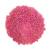 Miyuki Matte Transparent Red AB Seed Beads 11/0 22GM/TB)