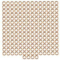 Antique Bronze Coloured Copper Open Jump Rings ID Approx 3mm. (Approx 200pcs)