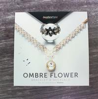 Ombre Flower Bracelet and Necklace with Kleshna DVD (PAL)