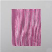 """Silk Screen - Irregular Lines Approx 4x5"""""""
