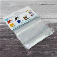 Kit Xchange Extra Large Ziptop Craft Bags Grey Trim 15pcs