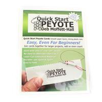 Quick Start Peyote 8/0 Seed Bead (3card/pack)