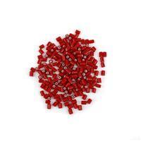 Preciosa Ornela Rola Beads - Red/White 5x5.3mm (20g)