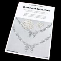 Twisted Clouds & Butterfly Chainmaille Kit with Booklet by Laura Binding
