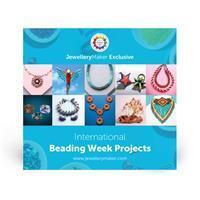 JewelleryMaker Exclusive USB Stick - International Beading Week Projects, inc; 11 Hours Of Tutorials.