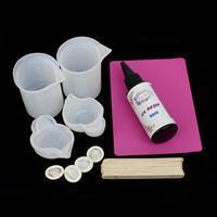 UV Resin Bezel Jewellery Kit & How To Use UV Resin Booklet