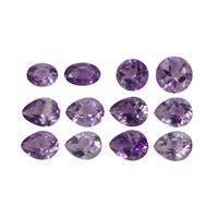 3cts Moroccan Amethyst Mix Shape & Size