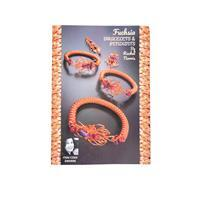 Fuchsia Bracelets and Pendants by Rachel Norris
