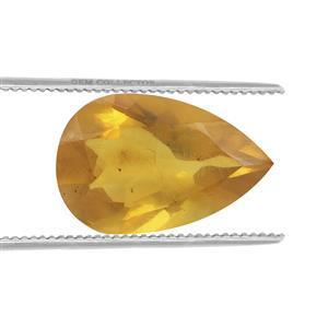 0.85cts Burmese Amber 12x8mm Pear  (N)