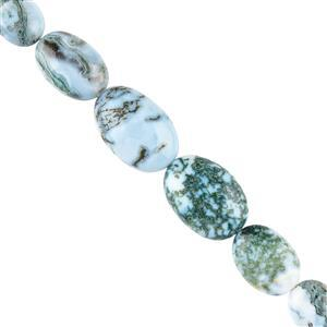 Opal with Chalcedony Gemstone Strands