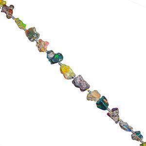 Ethiopian Opal Gemstone Strands