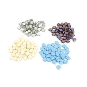 Czech Rhombus Bead Bundle! 8x10mm (50 per pack)