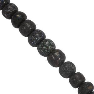 Black Matrix Opal Gemstone Strands