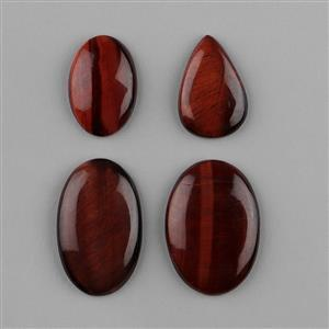 Red Tiger Eye Cabochons