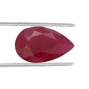 1.2cts Burmese Ruby 9x6mm Pear  (H)