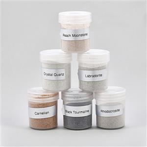 1200cts Multi Gemstones Dust Powder (Pack of 6)
