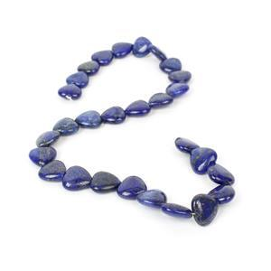 260cts Lapis Lazuli Fancy Heart Approx 14mm, 38cm