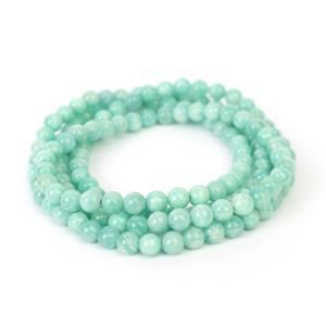 "215cts Multi-Colour Amazonite Plain Rounds Approx 6mm, 36"" Endless Strand"