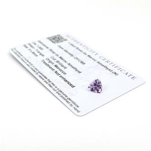 Amethyst Gemstone Pieces  1.42cts