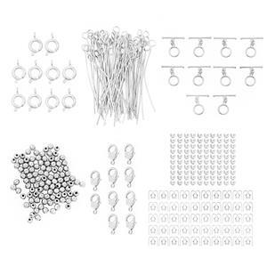 12pm Exclusive! Silver Plated Base Findings Bumper Pack! 430pcs.