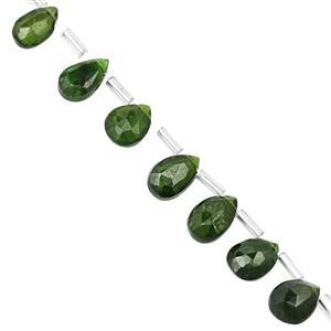 Chrome Diopside Gemstone Strand