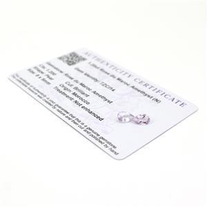 Amethyst Gemstone Pieces  1.55cts