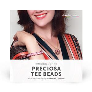 Introduction to Preciosa Tee Beads with Hannah Osborne DVD (PAL)