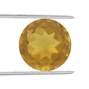 0.8cts Burmese Amber 9x9mm Round  (N)