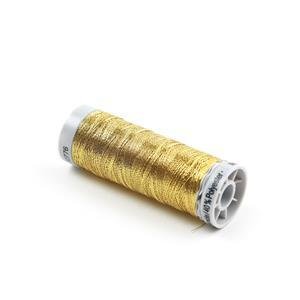 Gutermann Gold Silky Metallic Thread, 200m (60% Polyamide, 40% Polyester)