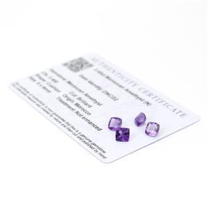 Moroccan Amethyst Gemstone Pieces  3.83cts