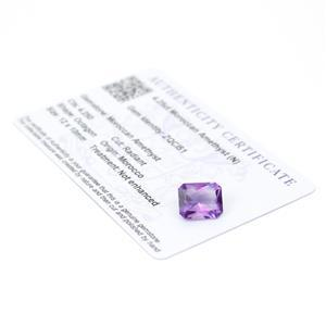 Moroccan Amethyst Gemstone Pieces  4.95cts