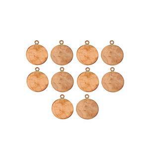 Bare Copper Blanks 20x0.9mm (10pk)