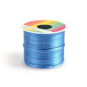 10m Turquoise Satin Cord, 1mm