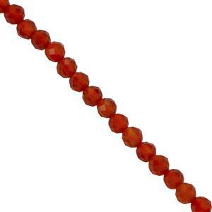 Red Onyx Gemstone Strands