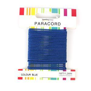 16ft Blue Paracord 1.2mm