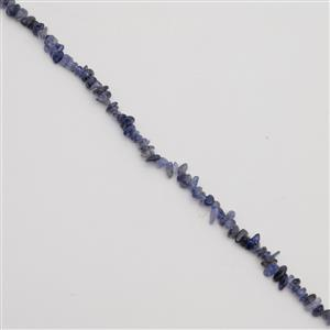 80cts Iolite Small Nuggets Approx 4x6mm, 38cm Strand