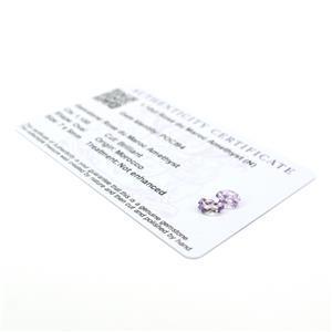 Amethyst Gemstone Pieces  1.45cts