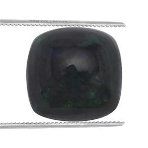 0.65cts Ethiopian Black Opal 7x7mm Cushion  (S)