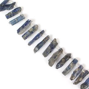 Coated Kyanite Gemstone Strands