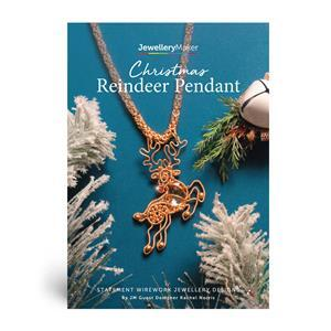 Christmas Reindeer Pendant Booklet A5: 44 Pages