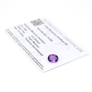 Moroccan Amethyst Gemstone Pieces  2.37cts