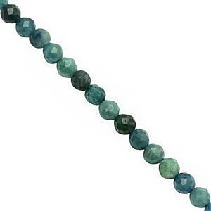 12cts Tourmaline Faceted Round Approx 2 to 2.50mm, 30cm Strand