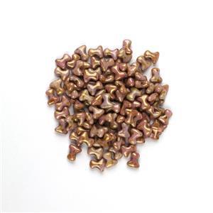 Preciosa Ornela Alabaster Roman Rose Tee Beads, 2x8mm (100pcs)