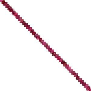 Ruby Gemstone Strand