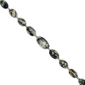 Pinolilth (Magnesite) Gemstone Strand